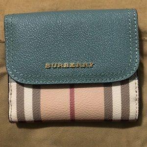 Burberry Women's House Check Luna Flap Wallet
